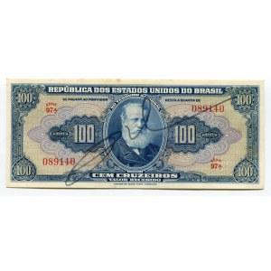 Brazil 100 Cruzeiros 1943