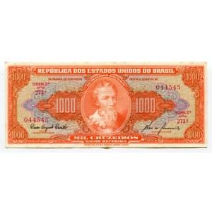 Brazil 1000 Cruzeiros 1960