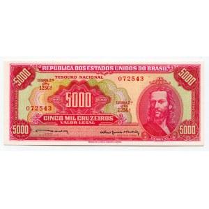 Brazil 5000 Cruzeiros 1964