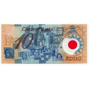 Brazil 10 Reais 2000
