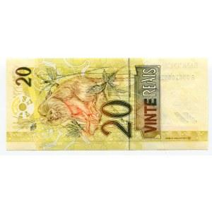 Brazil 20 Reais 2002