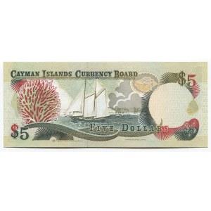 Cayman Islands 5 Dollars 1996