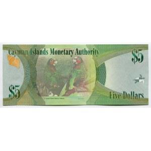 Cayman Islands 5 Dollars 2010