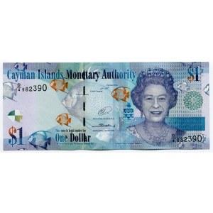 Cayman Islands 1 Dollar 2014