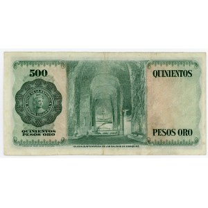 Colombia 500 Pesos Oro 1971