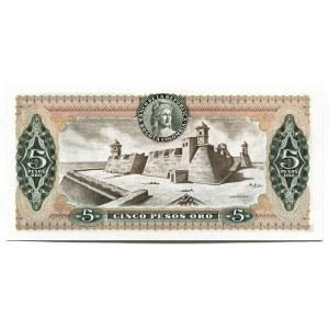 Colombia 5 Pesos Oro 1978 Replacement Rare
