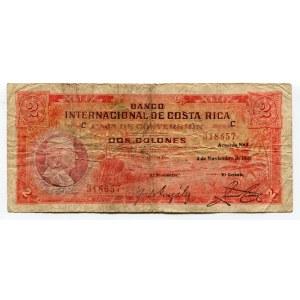 Costa Rica 2 Colones 1937