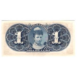 Cuba 1 Peso 1896