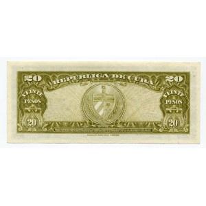 Cuba 20 Pesos 1960