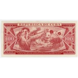 Cuba 100 Pesos 1961 SPECIMEN