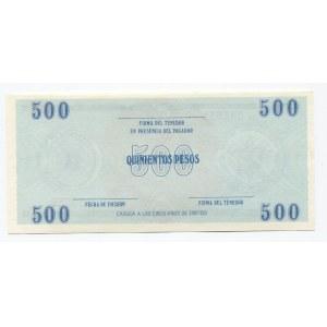 Cuba 500 Pesos 1986- 1993