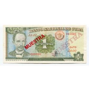 Cuba 1 Peso 1995