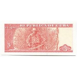 Cuba 3 Pesos 2004
