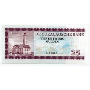Curacao 25 Gulden 2016 Specimen Willemstad