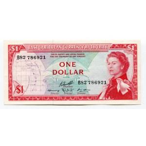East Caribbean States 1 Dollar 1965
