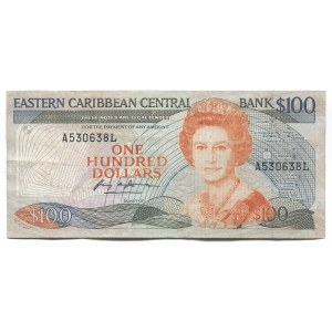 East Caribbean States 100 Dollars 1988 - 1993 (ND)