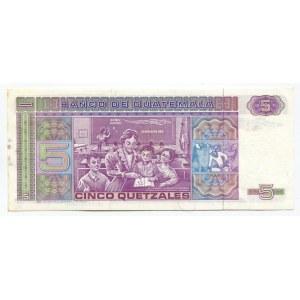 Guatemala 5 Quetzales 1983