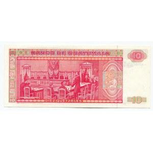 Guatemala 10 Quetzales 1983