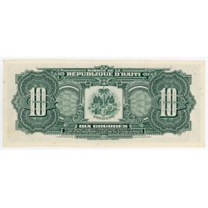 Haiti 10 Gourdes 1979 (ND)