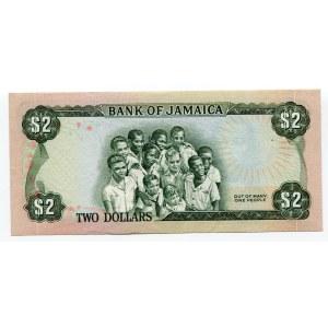 Jamaica 2 Dollars 1976 - 1960
