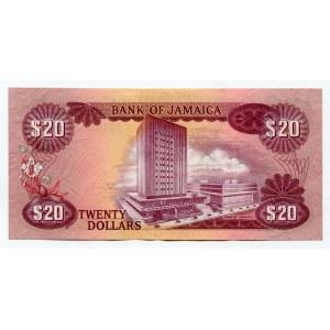 Jamaica 20 Dollars 1976 (ND)