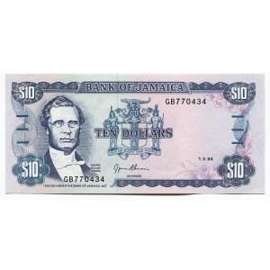 Jamaica 10 Dollars 1994