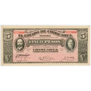 Mexico 5 Pesos 1915