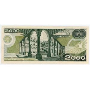 Mexico 2000 Pesos 1983