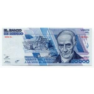 Mexico 20000 Pesos 1987