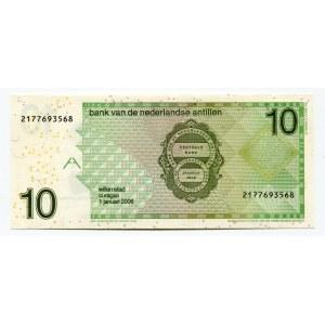 Netherlands Antilles 10 Gulden 2006