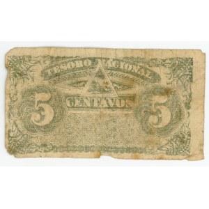 Nicaragua 5 Centavos 1894 (ND)