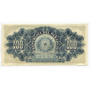 Paraguay 100 Pesos 1907