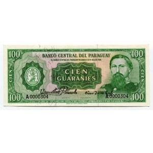 Paraguay 100 Guaranis 1952 (ND)