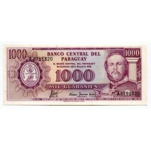 Paraguay 1000 Guaranis 1952 (ND)