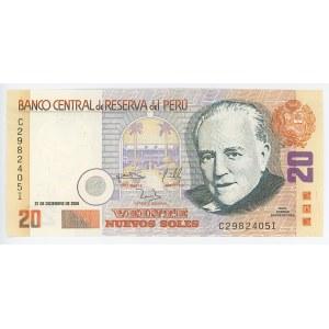 Peru 20 Nuevos Soles 2006