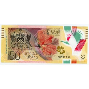 Trinidad & Tobago 50 Dollars 2015