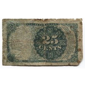 United States 25 Cents 1874
