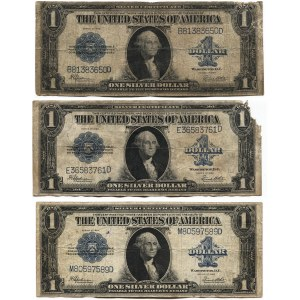United States 3 x 1 Dollar 1923