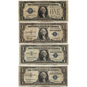 United States 4 x 1 Dollar 1928 - 1957