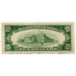 United States 10 Dollars 1950 D