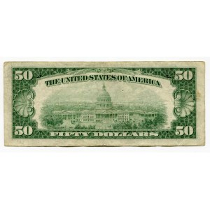 United States 50 Dollars 1950 D