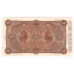 Uruguay Londres Rio de La Plata 10 Pesos 1883