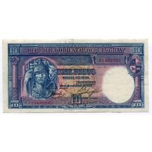 Uruguay 10 Pesos 1935 (ND)