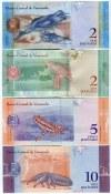 Venezuela Lot of 8 Banknotes 2012 - 2018