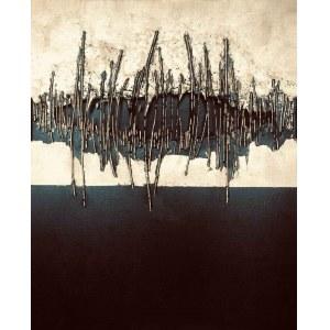 Anna Gulak, Nocturne in Black and Gold II, 2021