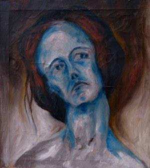 Piotr Uklański, Portret kobiety, połowa lat 80. XX wieku
