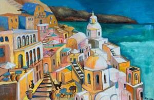Magdalena Kurek, Szczęśliwe godziny na Santorini