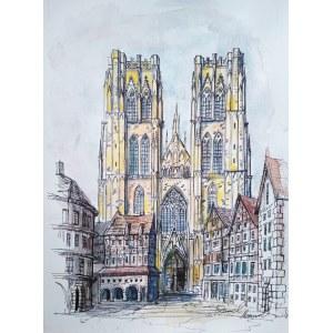 Dawid Masionek (ur. 1994), Katedra w Brukseli, 2021