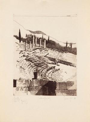 Tadeusz Michał SIARA (ur. 1941), Delft, z cyklu: Listy z Grecji
