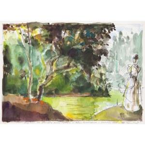 Tomasz KAZIKOWSKI (1952-2021), Pałacowy ogród, 1994